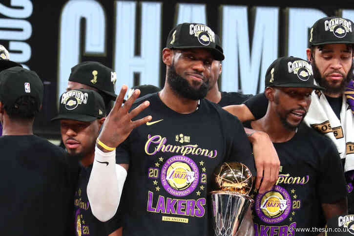 How many rings does LeBron James have after LA Lakers win NBA Championship? How does he compare to Kobe and Jordan?