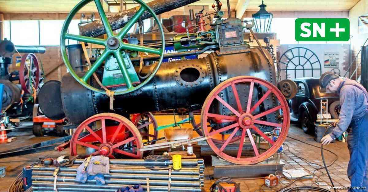Hanomag-Interessengemeinschaft Bockenem restauriert alte Dampfmaschine - Schaumburger Nachrichten