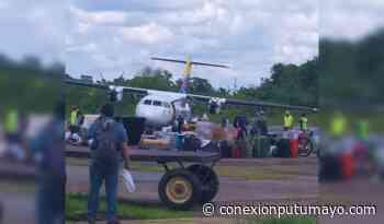 Aeronave sufrió incidente durante aterrizaje en Puerto Leguízamo, Putumayo - Conexión Putumayo