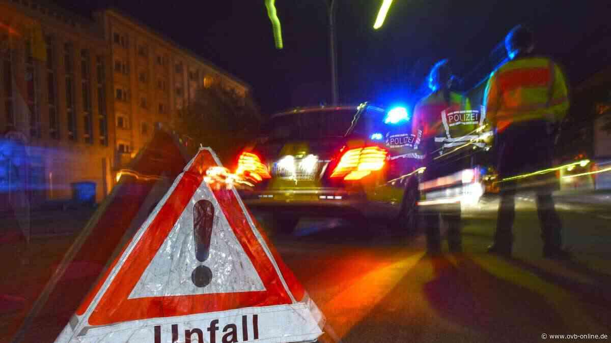 Tödlicher Verkehrsunfall auf B307 bei Miesbach - ovb-online.de