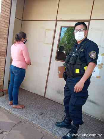 Detienen a una mujer acusada de apuñalar a un hombre en Mbuyapey - Nacionales - ABC Color