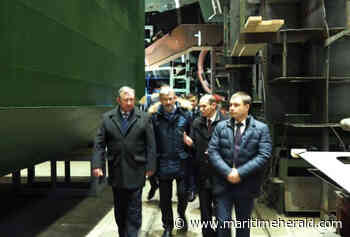 At the Onega Shipbuilding-Ship-Repair Factory They Will Build a New Ground-Toes Scow - maritimeherald.com