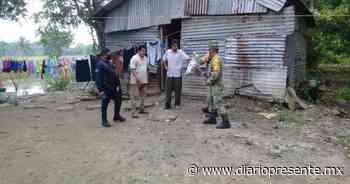 Concluye entrega de despensas a familias afectadas por las inundaciones en Huimanguillo - Diario Presente