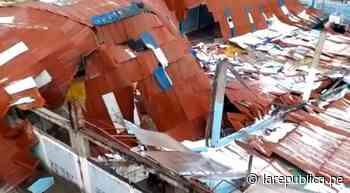 Cajamarca: granizo hace colapsar viviendas y centros de salud de Bambamarca - LaRepública.pe