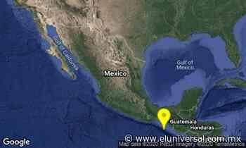 Se registra sismo de 5.5 en Ciudad Hidalgo, Chiapas | El Universal - El Universal