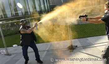 Matthew Dolloff, KUSA TV security guard, arrested in 'Patriot Rally' shooting - Washington Times