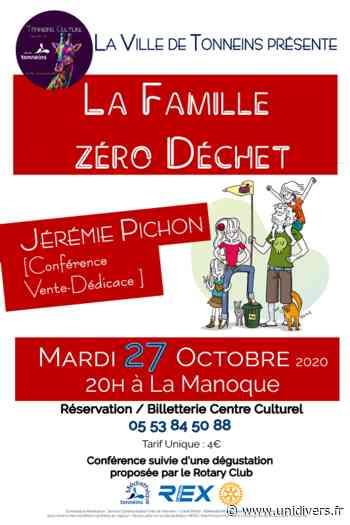 Conférence « La Famille Zéro Déchet » par Jérémy Pichon mardi 27 octobre 2020 - Unidivers