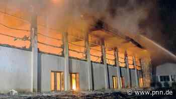 Versicherung fordert rund 3 Millionen Euro für zerstörte Turnhalle - Potsdamer Neueste Nachrichten