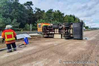 Glück im Unglück in Schneverdingen - Unfall mit Wohnmobil - Polizeiticker.ch