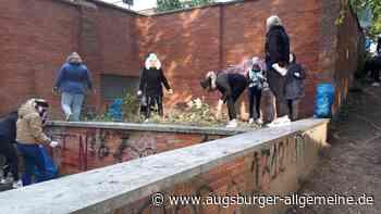 Aktion: Studierende sind entsetzt über Müllmenge in Krumbach - Augsburger Allgemeine