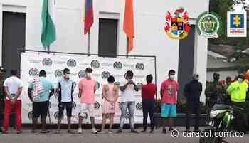 Encarcelados presuntos homicidas de 21 personas en Chigorodó - Caracol Radio