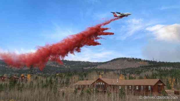 Cameron Peak Fire Containment Grows As 900+ Firefighters Work To Get Wildfire Under Control