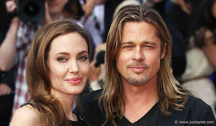 Brad Pitt & Angelina Jolie's Champagne House Is Launching First Bottles This Week