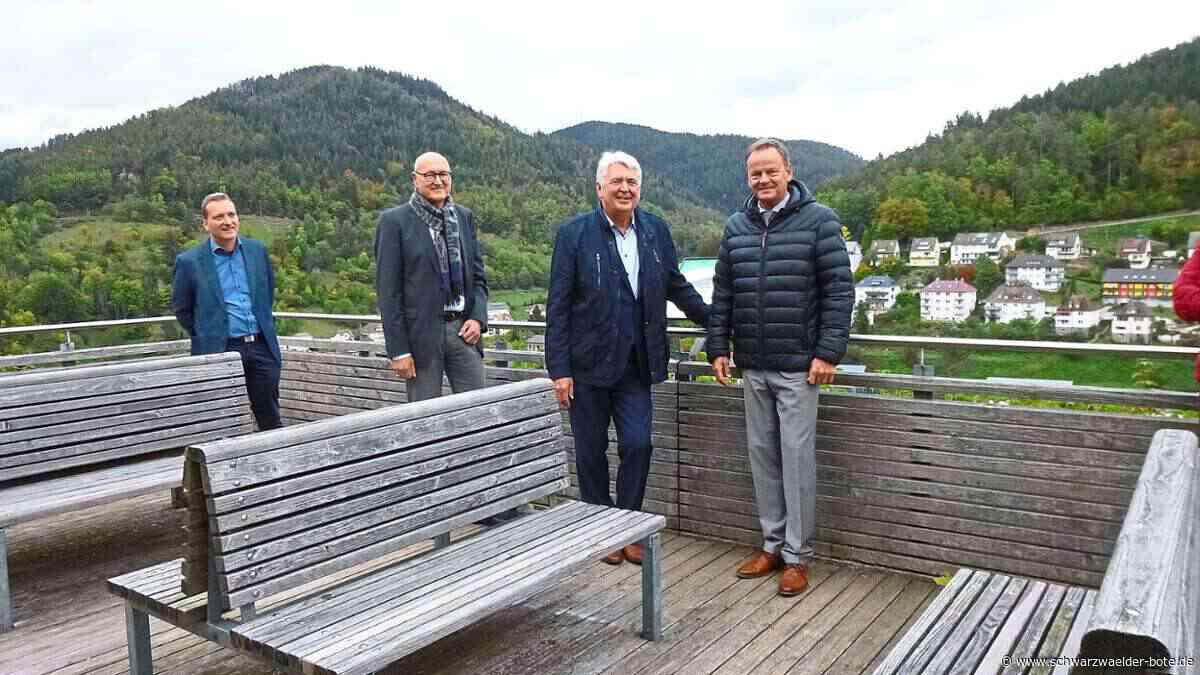 Hornberg: Genehmigung als Gastgeschenk - Hornberg - Schwarzwälder Bote