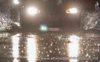 Alertan lluvias nocturnas en Tacotalpa y Tenosique - El Heraldo de Tabasco