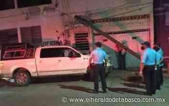 Chocan supuestos funcionarios contra templo de Tenosique - El Heraldo de Tabasco