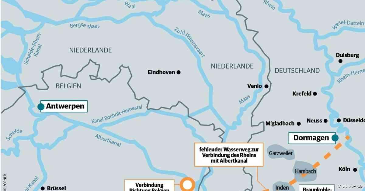 Infrastruktur in Dormagen: Vision von neumem Rhein-Kanal nach Belgien - Westdeutsche Zeitung