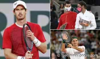 Andy Murray gives GOAT debate verdict on Roger Federer, Rafael Nadal and Novak Djokovic