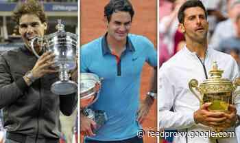 Roger Federer, Rafael Nadal and Novak Djokovic Grand Slam records before French Open final