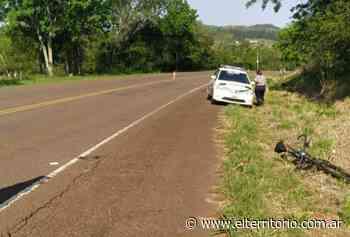 San Javier: un hombre en grave estado tras caer de su bicicleta sobre la ruta Provincial N°4 - EL TERRITORIO