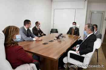 Presidente Tesei visita Pac2000 di Ponte Felcino - Umbria Notizie Web
