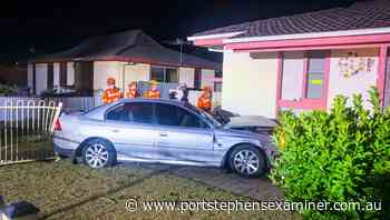 Unlicensed driver crashes into Raymond Terrace house: $40000 in damages - Port Stephens Examiner