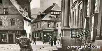 Wo einst die Klinge floss: Platz im Weißenfelser Zentrum war mal ein lebendiges Viertel - Mitteldeutsche Zeitung