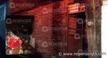 En Yuriria, vivienda de adultos mayores se incendia y pierden todas sus pertenencias. - Región Sur Gto