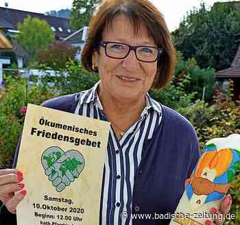 Ein Lichtermeer für den Frieden - Kirchzarten - Badische Zeitung