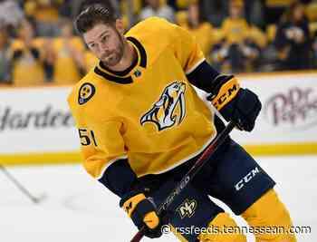 Predators trade Austin Watson to Senators for 2021 fourth-round draft pick