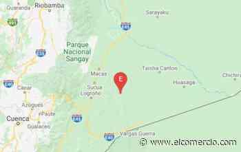 Sismo de 4.6 grados se registró en Sucúa, Morona Santiago - El Comercio (Ecuador)