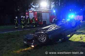 Zwei Schwerverletzte bei Unfall - Westfalen-Blatt