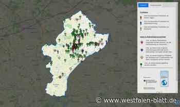 Klima-Map: Bürger geben 205 Anregungen - Westfalen-Blatt