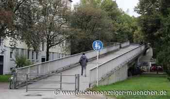 Nicht mehr nur Fußgänger / Brücke zwischen Heideck- und Braganzastraße wird für Rad - Wochenanzeiger München