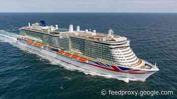P&O Cruises takes delivery of the Iona