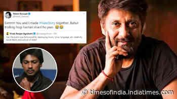 Filmmaker Vivek Agnihotri slams Bollywood for destroying Indian culture; Nikhil Dwivedi reminds him of his movie