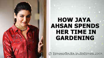 How Jaya Ahsan spends her time in gardening