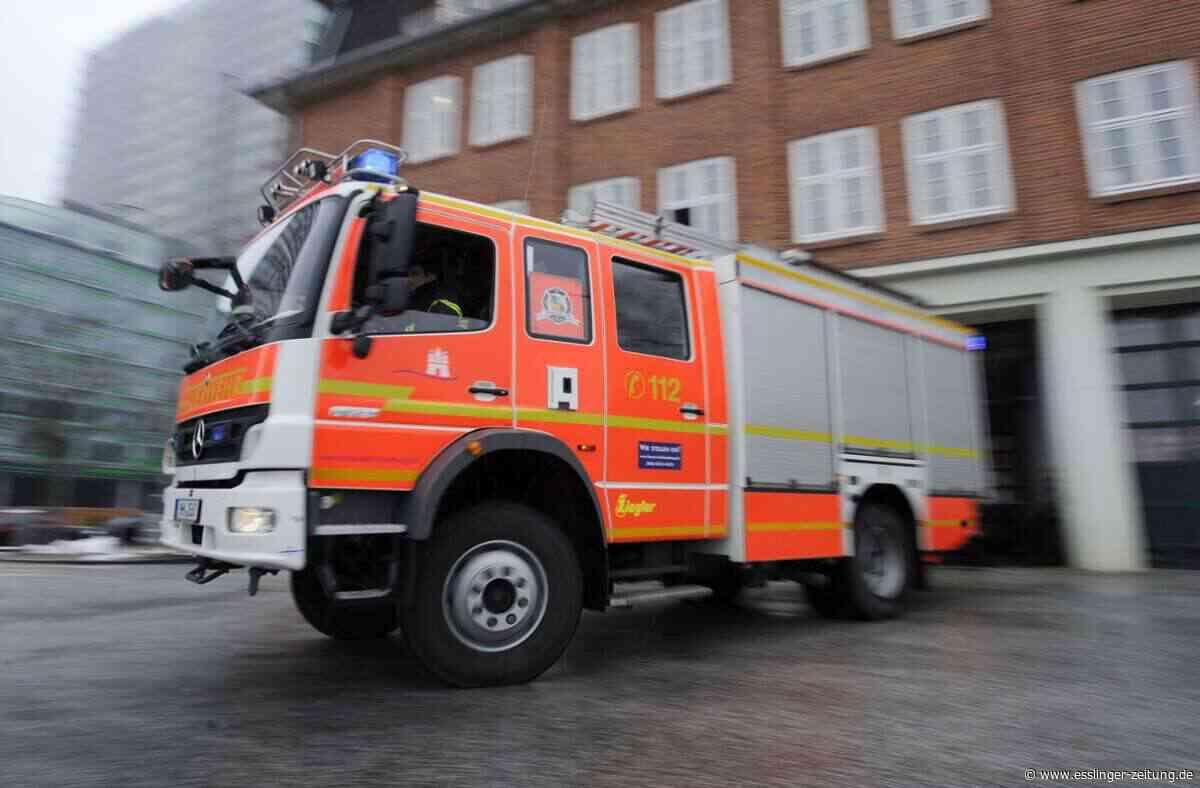 Kirchheim unter Teck: Ethanolofen löst Brand aus - esslinger-zeitung.de