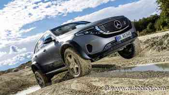 Mercedes-Benz EQC 4x4² is an electric monster truck on portal axles