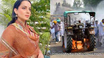FIR filed against Kangana Ranaut in Karnataka for her tweet on farmers' protest