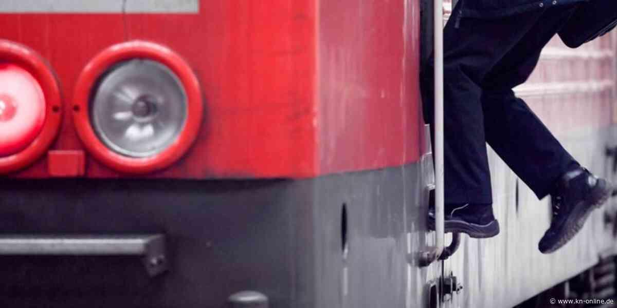 Bordesholm - Neumünster: Train-Surfer begab sich in Lebensgefahr - Kieler Nachrichten