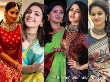 Samantha and Anushka to Kajal, Keerthy and Pooja Hegde, Tollywood divas flaunt their beauty in handloom outfits
