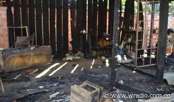 Hombre incineró su vivienda en Sabana de Torres tras la petición de divorcio de su mujer - W Radio