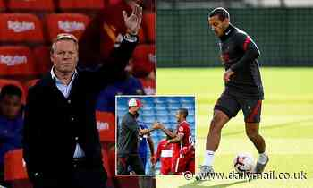 Thiago Alcantara rejected Barcelona's last-gasp bid to re-sign him before joining Liverpool for £25m