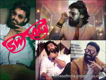 Bellamkonda's pics in Beard are all about Style