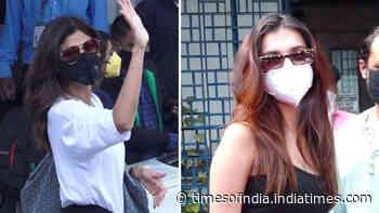 From Shilpa Shetty to Tara Sutaria, B-town divas spotted in Mumbai