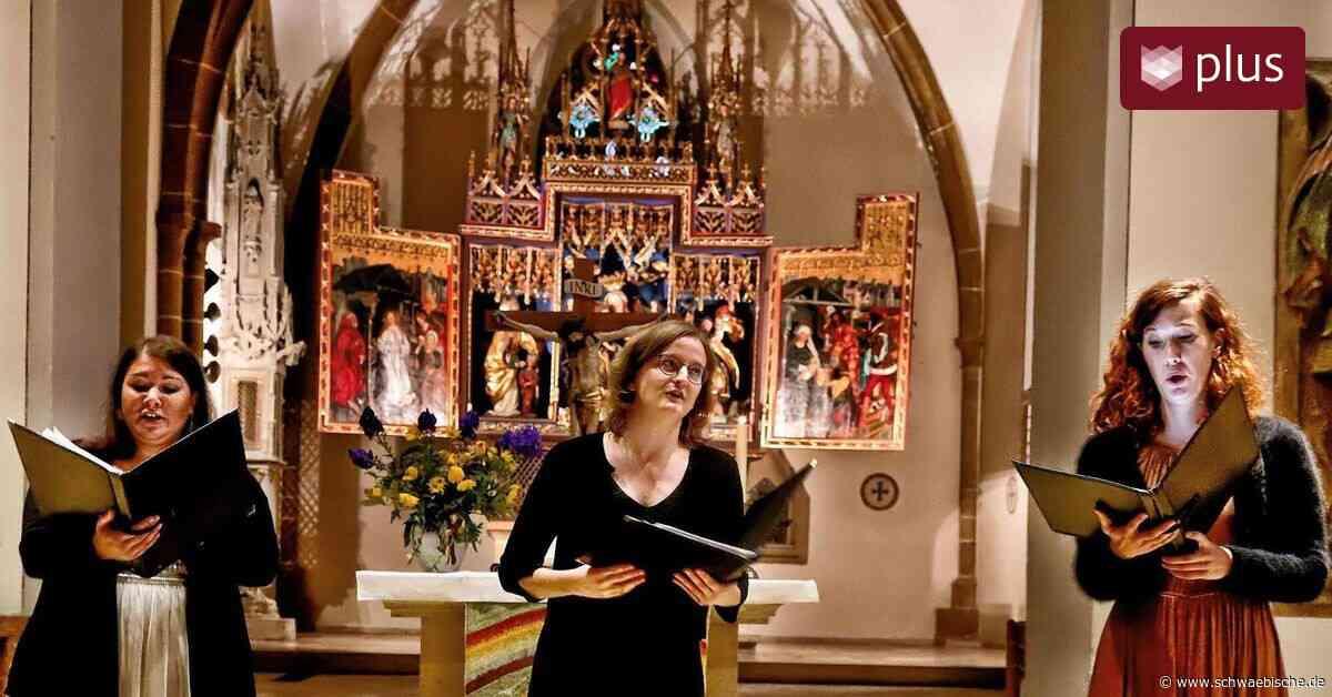 Frauenterzett singt in Bopfingen perfekt und anmutig - Schwäbische