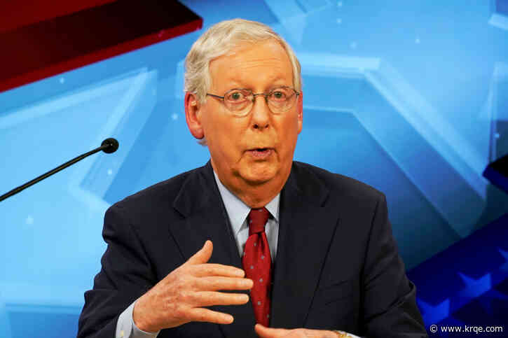 McConnell slates October revote on GOP COVID relief plan