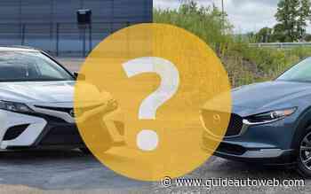 Toyota Camry ou Mazda CX-30?