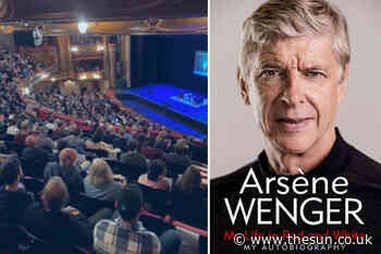 Piers Morgan, Gary Lineker and Prem stars slam Arsene Wenger book launch being filled with fans as stadium - The Sun